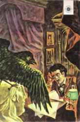 Edgar Allan Poe, 'The Raven'. From the Macmillan New York edition
