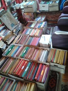 Some of the Russell Hoban archives